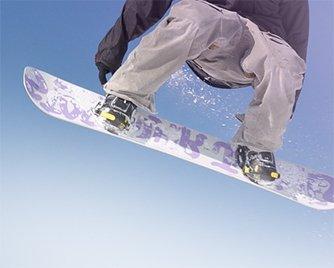 Snowboard im Wintersport
