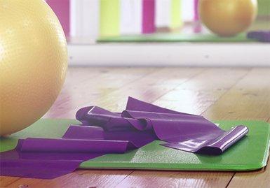 Yogamatten eignen sich für diverse Sportarten