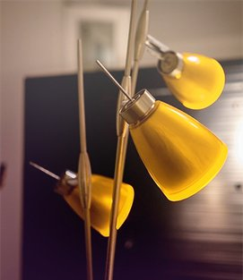 Stehlampe für die Wohnung