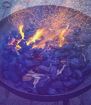 Feuerschalen sorgen für Wärme