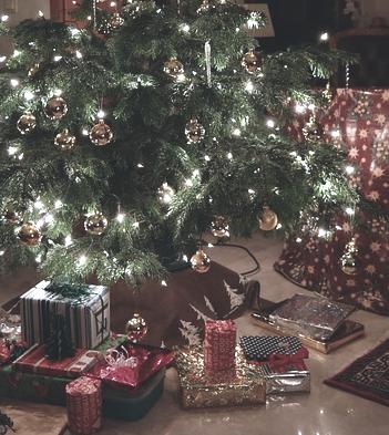 der weihnachtsbaumständer oder christbaumständer sorgt für einen stabilen Stand der Tanne