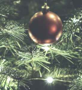 Christbaumschmuck für Weihnachten
