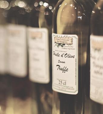 olivenöl aus der flasche