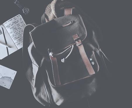 die reisetasche als rucksack