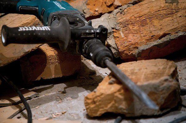 Abbruchhammer Test