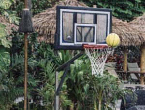 Basketballkorb Test