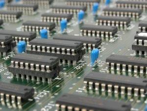elektronische Platine