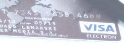 kreditkarte test