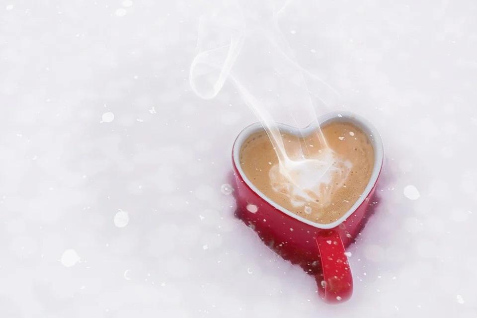 Tasse mit Herz