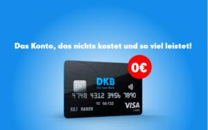 DKB Cash Konto mit Kreditkarte