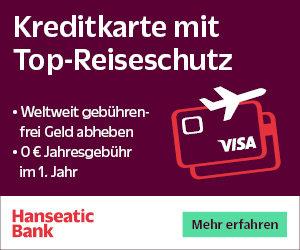Hanseatic Reisekreditkarte