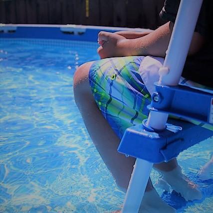 Aufblaßbarer Pool