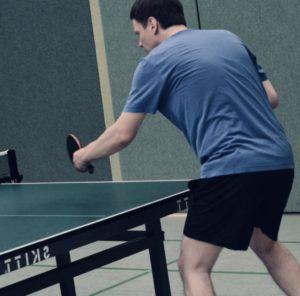 Tischtennisplatte Outdoor test